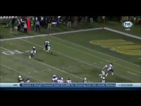 Jordan Taylor - Rice Football - WR - 2013 UAB Game