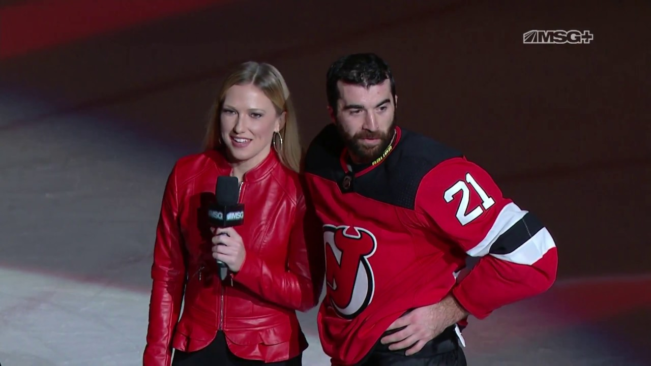 huge discount 36534 77dae Kyle Palmieri Reflects on Dominant Win Over Caps | New Jersey Devils | MSG  Networks