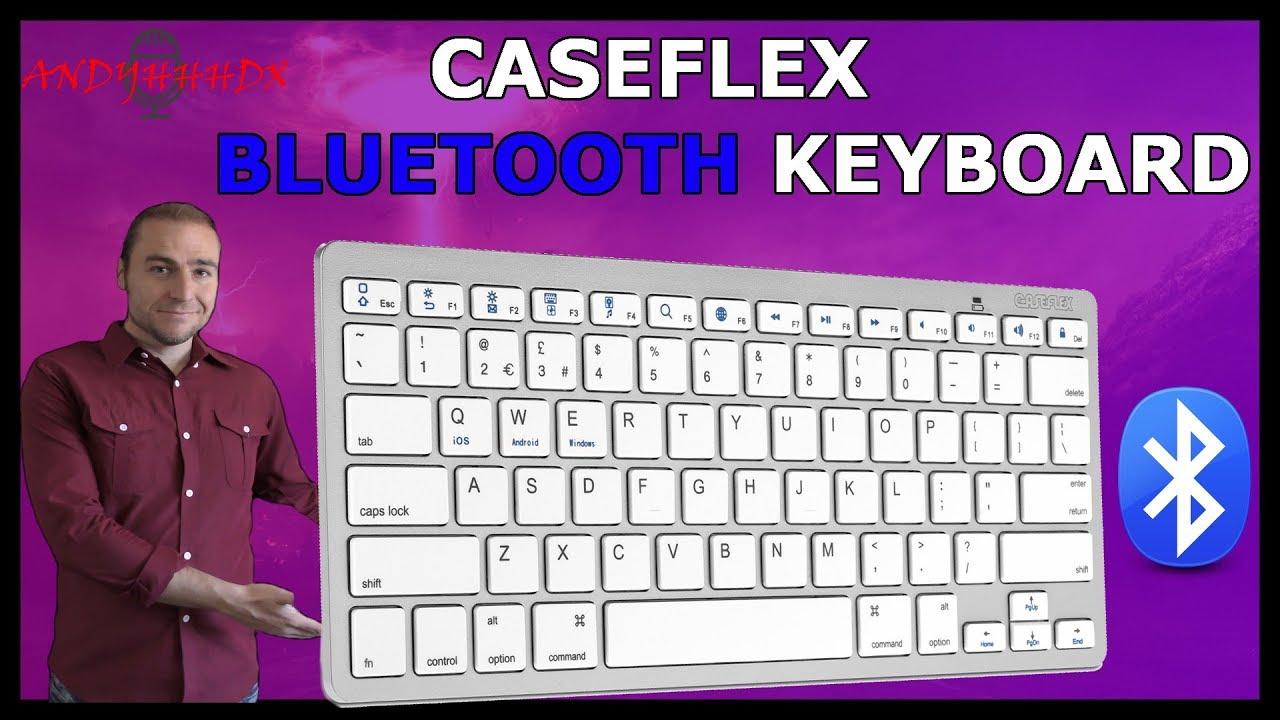 uk cheap sale super specials san francisco Caseflex Bluetooth Keyboard Review - YouTube