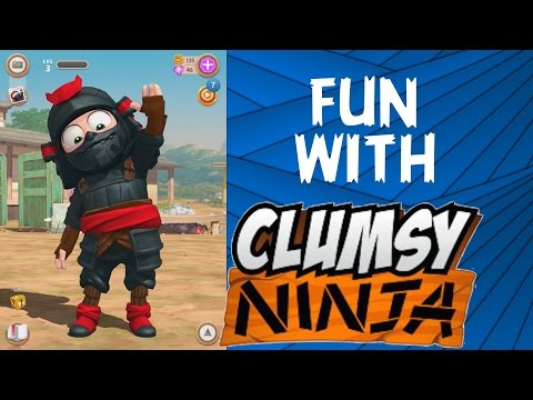 FUN WITH CLUMSY NINJA - NEW COSTUMES -Compatible with iPhone, iPad, and iPod touch.
