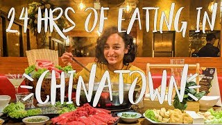 How to spend 24 hours eating the best food in LONDON'S CHINATOWN