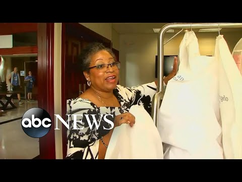 Alfred Angelo seamstress rescues wedding gowns for brides