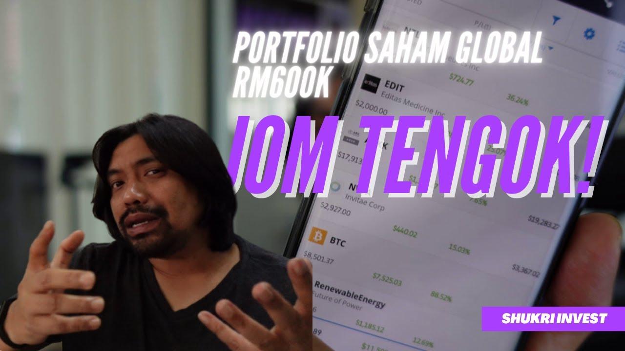 Portfolio Saham Global RM600K Didedahkan| Jom Tengok Saham Apa yang Paling Untung!!