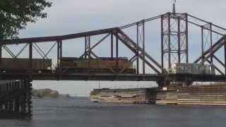 Canadian Pacific Railroad Swing Bridge, LaCrosse Wi