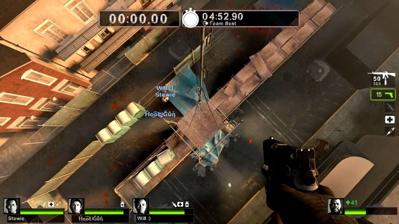 Left 4 Dead 2 - Grenade/Rocket Launcher Jumping Glitch