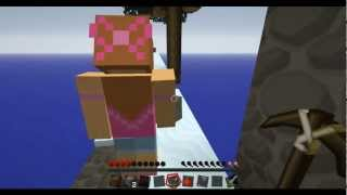 Minecraft Skyblock 2.1 With Jen - Ep. 2 - Fighting For Our Lives! - Let's Play