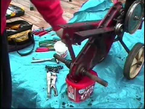 1of 2 MTD RotoTiller  YouTube
