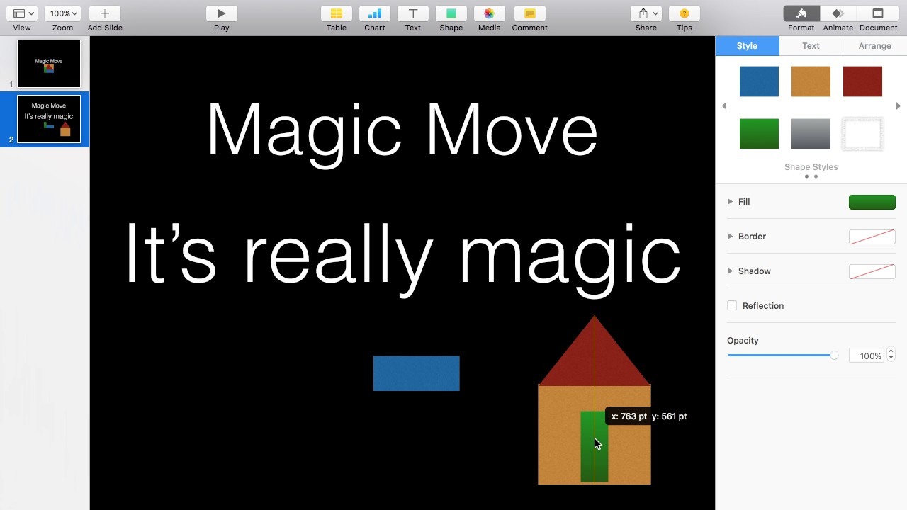 Magic move animation in keynote youtube magic move animation in keynote ccuart Image collections