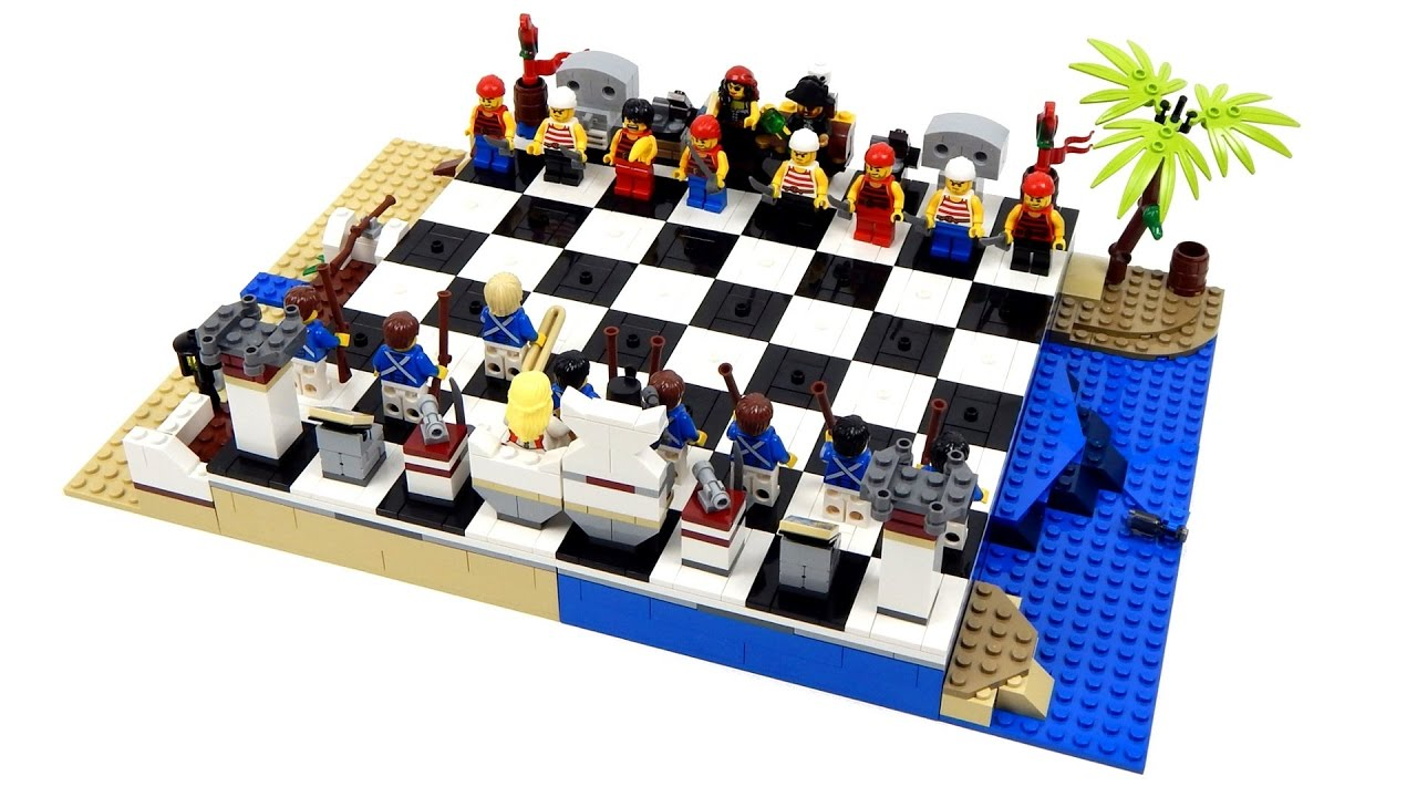молодая набор лего шахматы пираты свобода действий, никаких