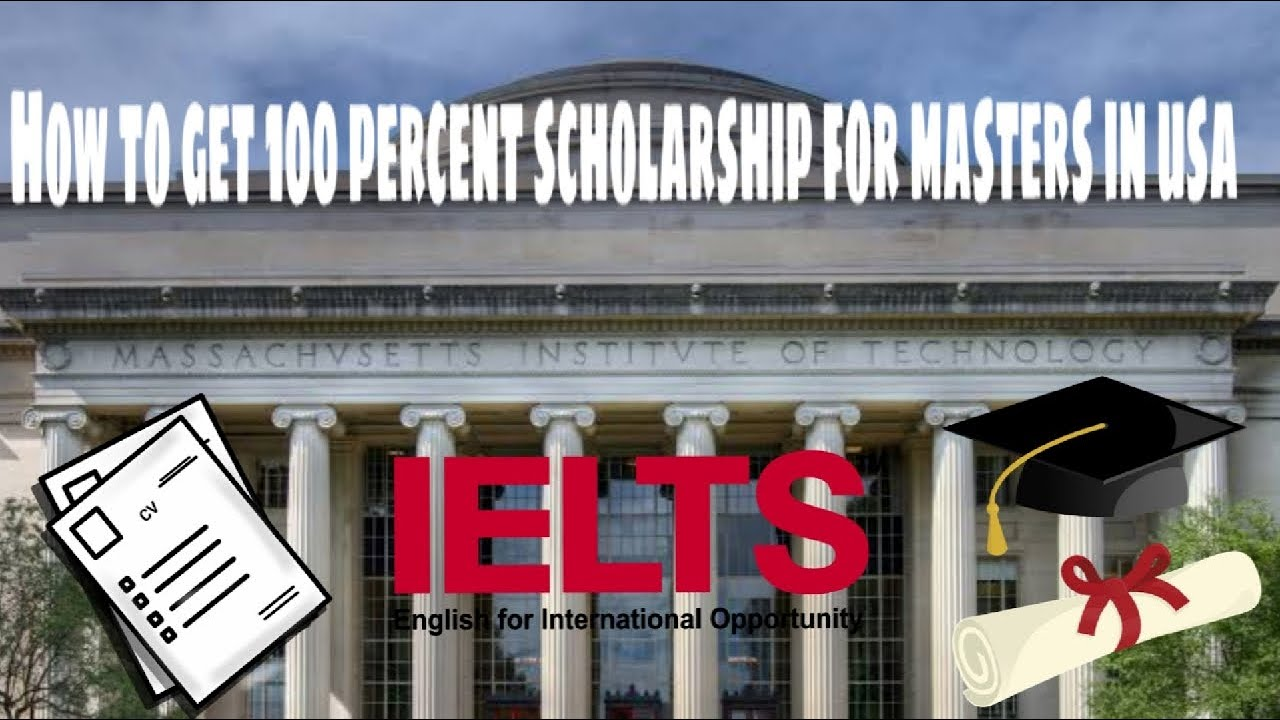 How to get 100 Percent Scholarship for Masters in USA ...