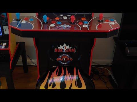 (NBA JAM) Arcade 1up Stool alternative. from Footie Laughs