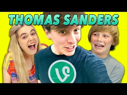 KIDS REACT TO THOMAS SANDERS VINES
