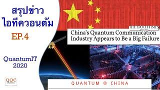 EP.4 ควอนตัมจีน - Quantum@China | สรุปข่าวไอทีควอนตัม - Quantum IT 2020 | มี.ค.64 | Q-Thai.Org