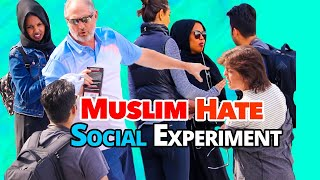 Muslim Hate ( Harrasing Hijab Girl in Public) | Canadians Reactions |