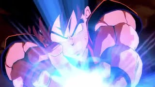 Goku Kaioken x4 vs Vegeta | Dragon Ball FighterZ Version English Dub