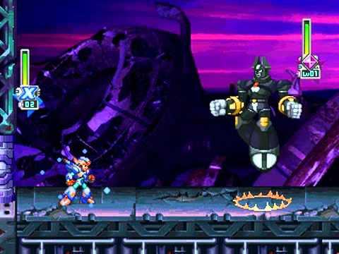 Mega Man X6 - Eurasia Ruins