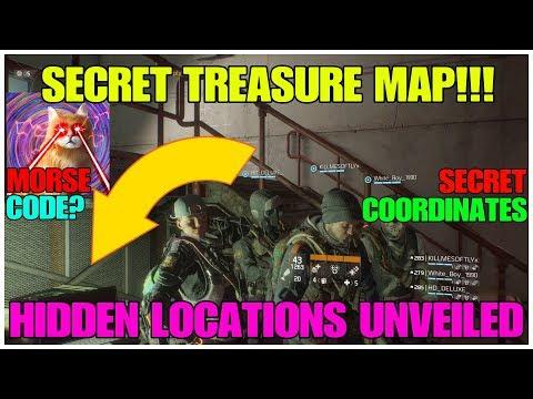 Division SECRET Treasure Mission! Morse Code? Coordinates? And More SECRETS! -The Division 1.8