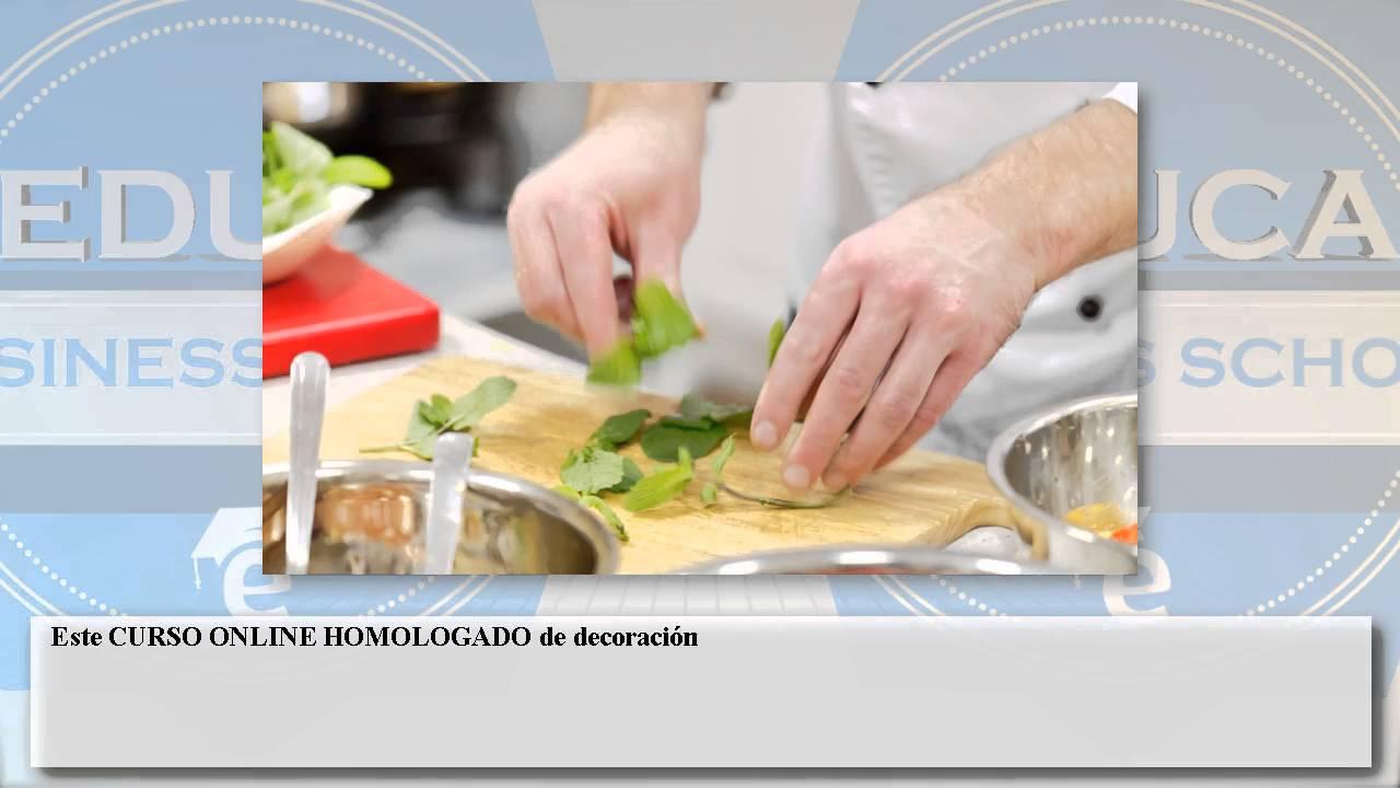 Curso decoracion exposicion platos cursos online youtube - Decoracion de platos ...