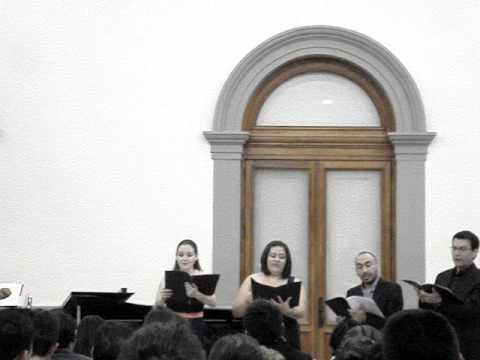 9. Quartett: Ich bin geliebt - Spanisches Liederspiel, op. 74 - Robert Schumann