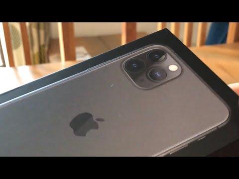 IPhone 11 Pro UK Unboxing