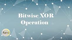 Bitwise XOR Operation