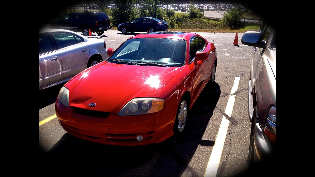 2003 hyundai tiburon 2 0l 5mt start up quick tour rev 143k youtube