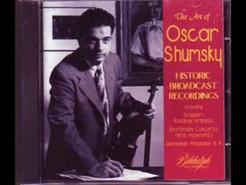 Oscar Shumsky plays Wieniawski Polonaise