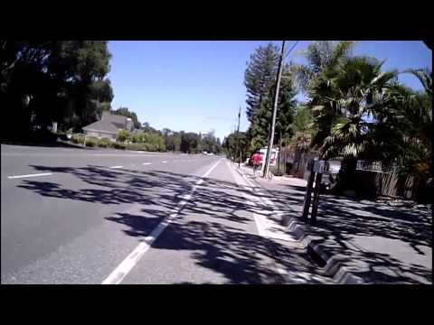 2012 Tour de Menlo 100K Test Ride Part 3/3 (Triangle Park to Picchetti Ranch)