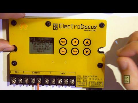 Solar BMS user interface