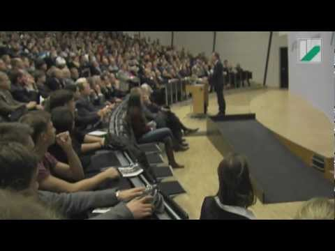 Immatrikulationsstunde für die Erstsemester an der Universität Bayreuth