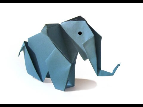 Origami Elephant Tutorial Old Version How To Make An Origami