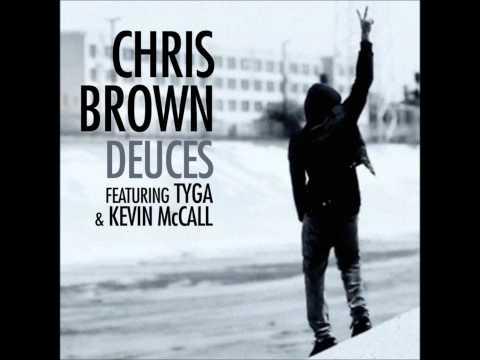 Chris Brown - Deuces (Audio) ft. Tyga, Kevin McCall [Lyrics]