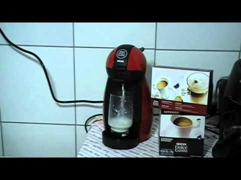 0207ffa47 Making a Cappuccino using my Dolce Gusto Piccolo espresso machine - YouTube