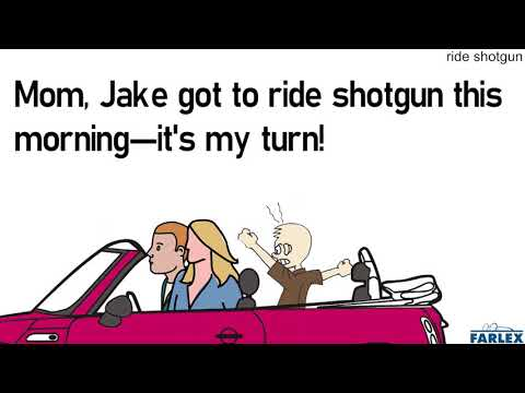 riding shotgun на русском