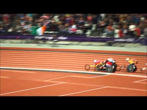 David Weir Gold medal 5Km London Paralympics 2012