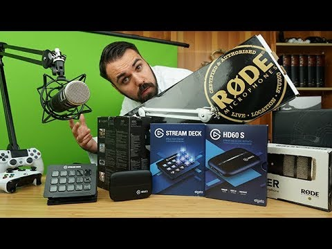 Streamen wie Gronkh und Pewdiepie - das XXL Streaming-Setup - Dr. UnboxKing