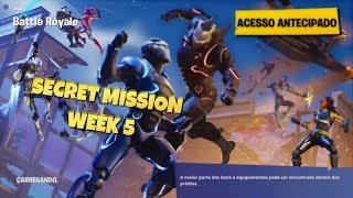 FORTNITE | Secret mission-Week 5