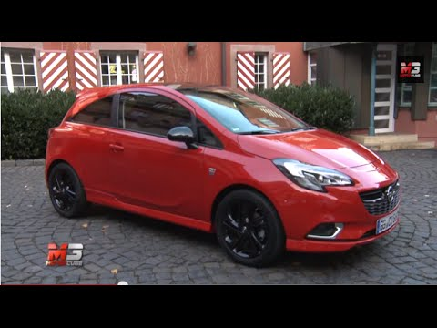 opel corsa 1 0 ecotec turbo 3 door 2015 first test drive only sound youtube. Black Bedroom Furniture Sets. Home Design Ideas