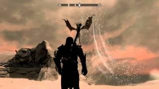 Битва с Алдуином TES Skyrim