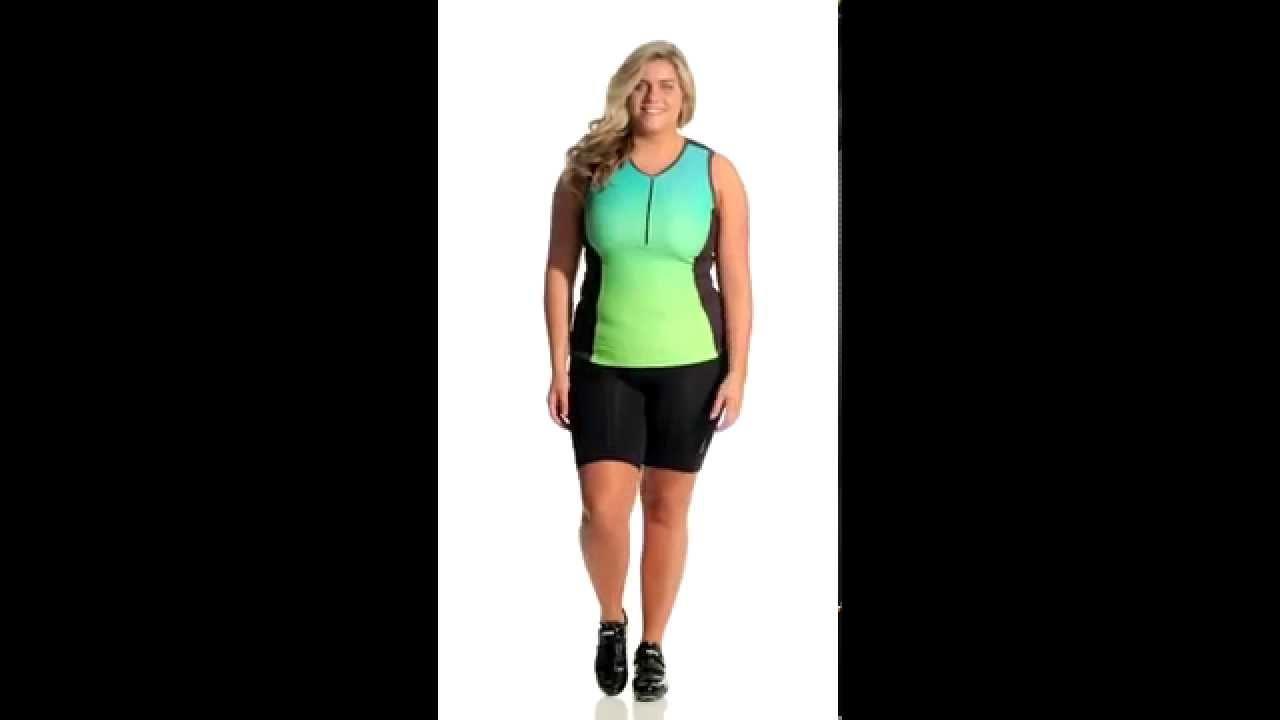 1f9cb44e5 Shebeest Women s Triple S Ultimo Plus Size Cycling Shorts ...