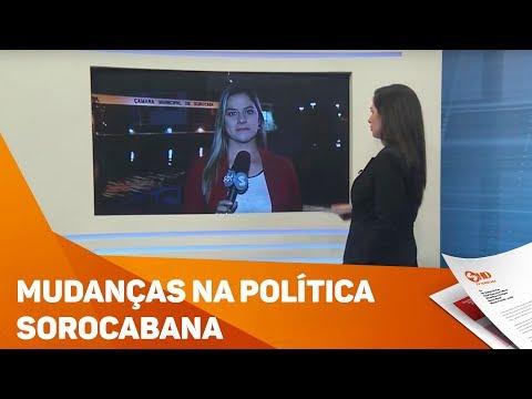 Mudanças na política Sorocabana - TV SOROCABA/SBT