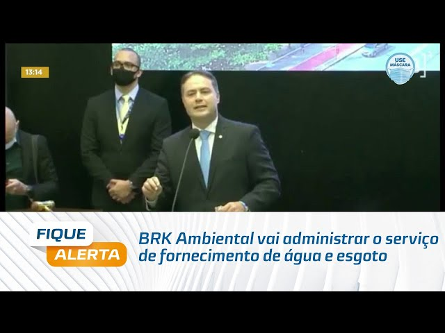 BRK Ambiental vai administrar o serviço de fornecimento de água e esgoto
