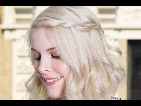 How to Do a Waterfall Braid on Short Hair