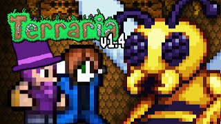 Boss: Die Bienenkönigin! | Terraria 1.4 Update (Part 12)