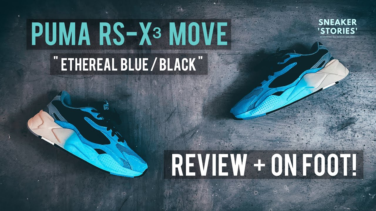 Puma RS-X³ Move (Review + On Foot)