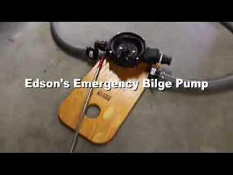 Edson emergency bilge pump test 5 gallons youtube edson emergency bilge pump test 5 gallons ccuart Choice Image
