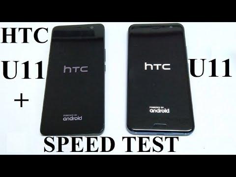 HTC U11+ vs HTC U11 - SPEED TEST