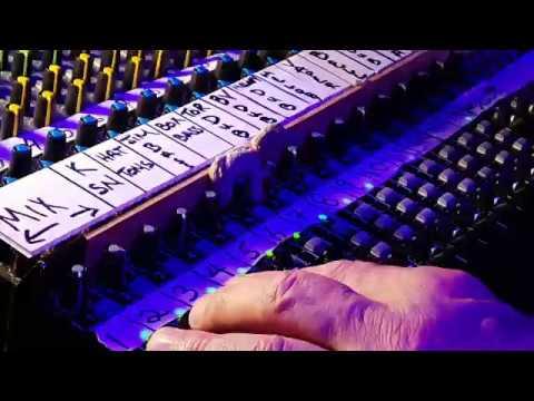 Daniel Lanois at the Soundcheck