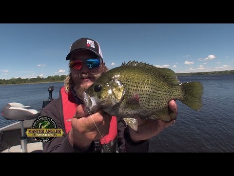 Trophy Rock Bass Fishing In Manitoba - Manitoba Master Angler Minute