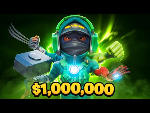 $1 MILLION MYTHICS ONLY CUP |